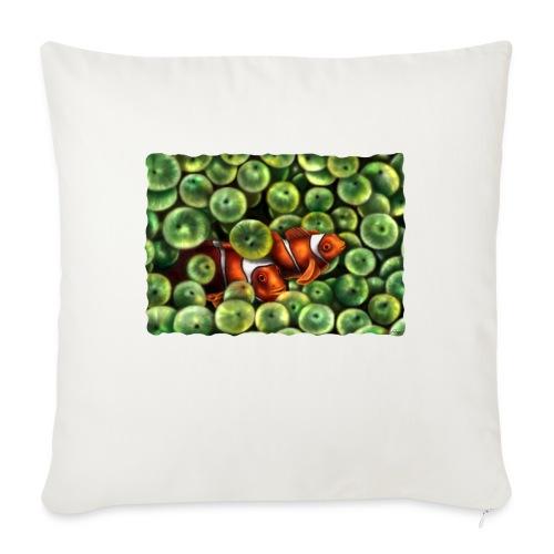 Pesci Pagliaccio - Copricuscino per divano, 45 x 45 cm