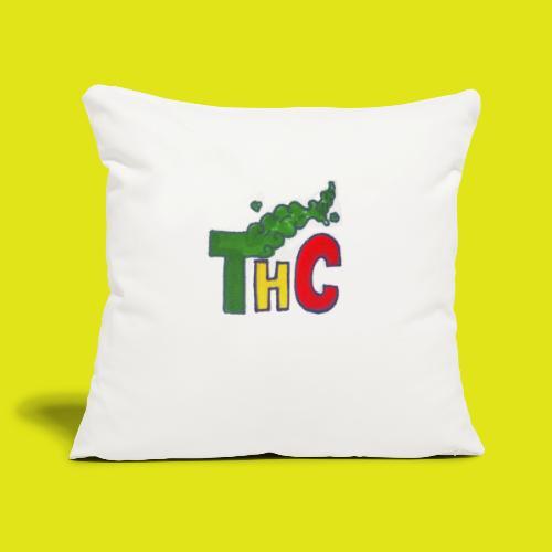 THC logo one - Copricuscino per divano, 45 x 45 cm