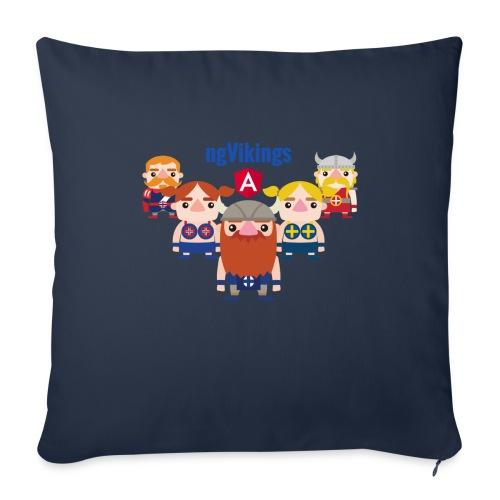 Viking Friends - Sofa pillowcase 17,3'' x 17,3'' (45 x 45 cm)