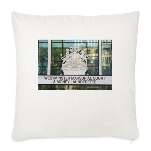 Court of Contempt - Sofa pillowcase 17,3'' x 17,3'' (45 x 45 cm)