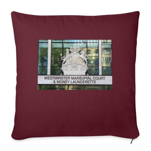 Court of Contempt - Sofa pillowcase 17,3'' x 17,3'' (45 x 45 cm)