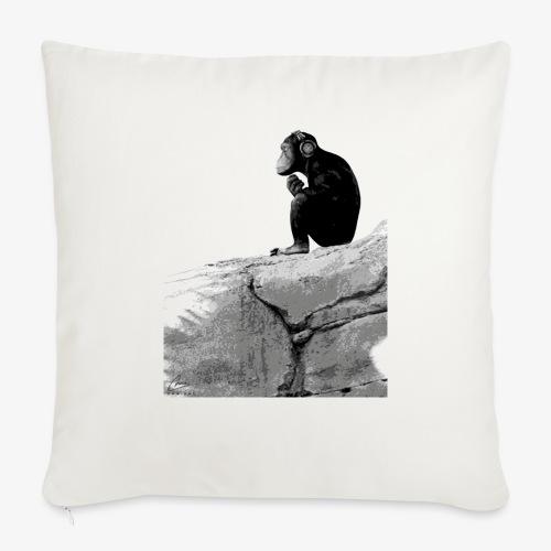 Music Monkey - Sofa pillowcase 17,3'' x 17,3'' (45 x 45 cm)