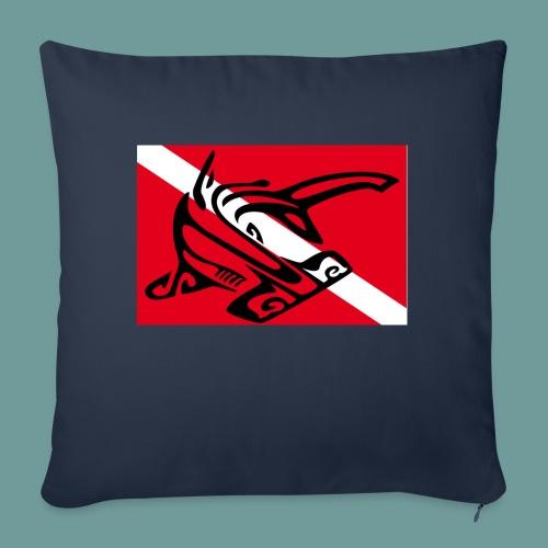 flag_ham_shark - Housse de coussin décorative 45x 45cm