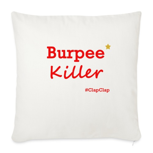 Burpee Killer Stern - Sofakissenbezug 44 x 44 cm