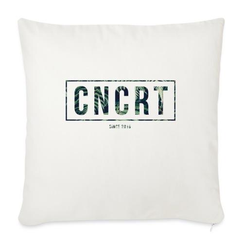 CNCRT white shirt (Plant Print) - Sierkussenhoes, 45 x 45 cm