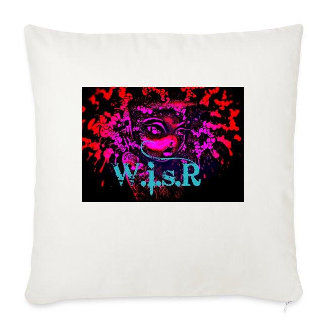 T-Paita Violetti Art World is sick Records