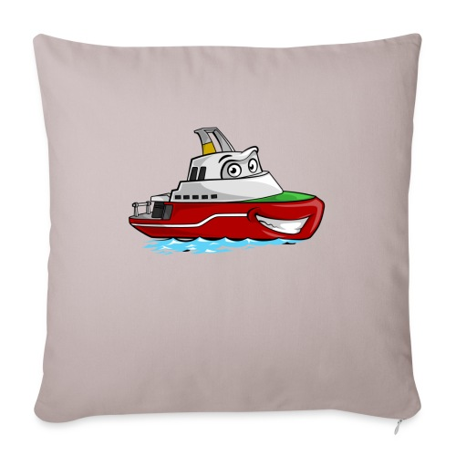 Boaty McBoatface - Sofa pillowcase 17,3'' x 17,3'' (45 x 45 cm)