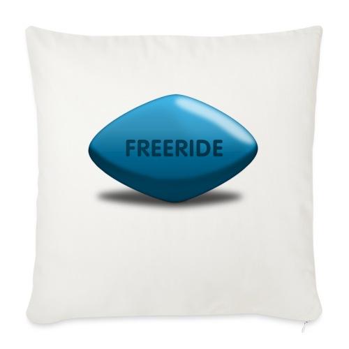 Freeride-Viagra - Sofakissenbezug 44 x 44 cm