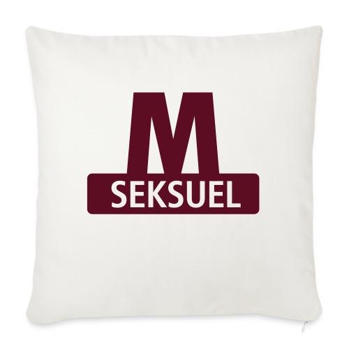 Metroseksuel - Pudebetræk 45 x 45 cm