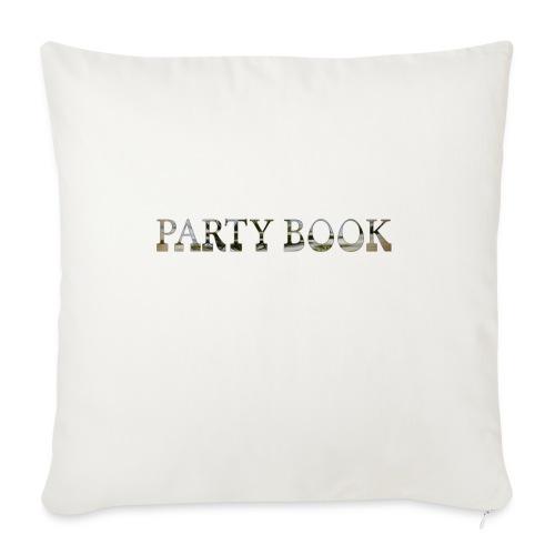 PartyBook - Sofakissenbezug 44 x 44 cm