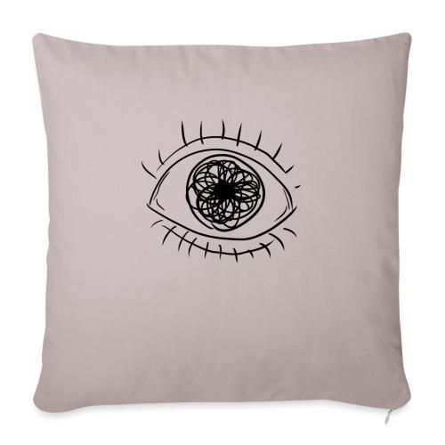 EYE! - Sofa pillowcase 17,3'' x 17,3'' (45 x 45 cm)