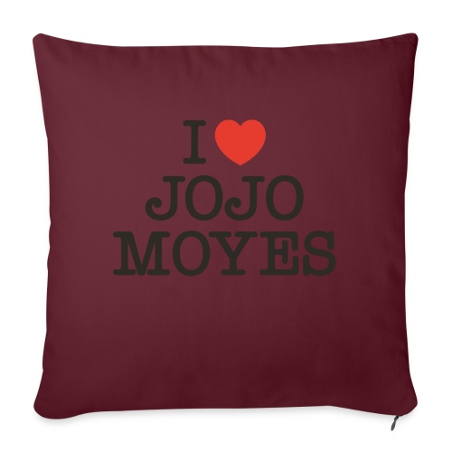 I LOVE JOJO MOYES - Pudebetræk 45 x 45 cm
