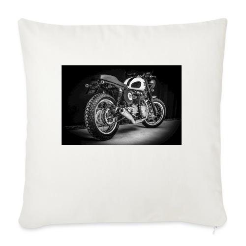 Monia's Thruxton 'Performance Scrambler' - Sofa pillowcase 17,3'' x 17,3'' (45 x 45 cm)