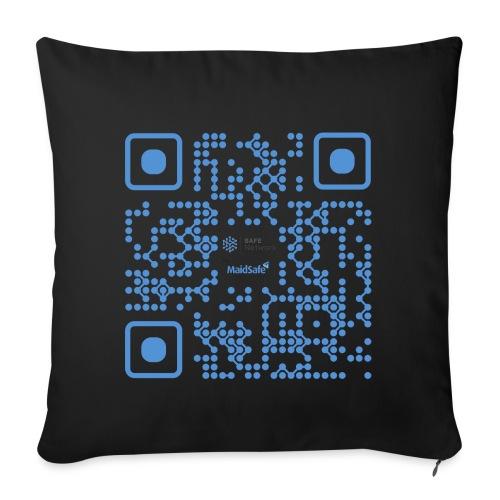 QR Maidsafe.net - Sofa pillowcase 17,3'' x 17,3'' (45 x 45 cm)