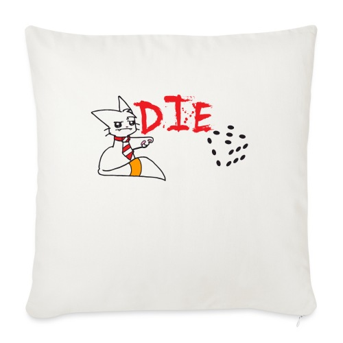 DIE - Sofa pillowcase 17,3'' x 17,3'' (45 x 45 cm)