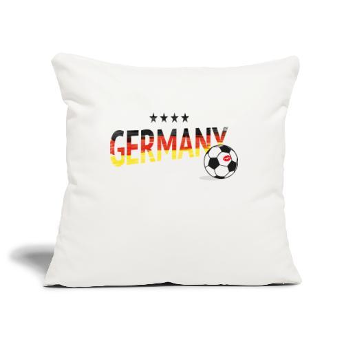 Fußball Weltmeister Fan Deutschland - Sofakissenbezug 44 x 44 cm