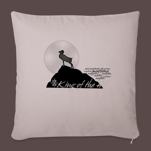 Muflone Halftone - Copricuscino per divano, 45 x 45 cm
