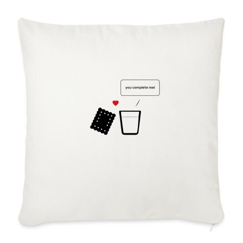 Regali per Innamorati | Mi Completi - Copricuscino per divano, 45 x 45 cm