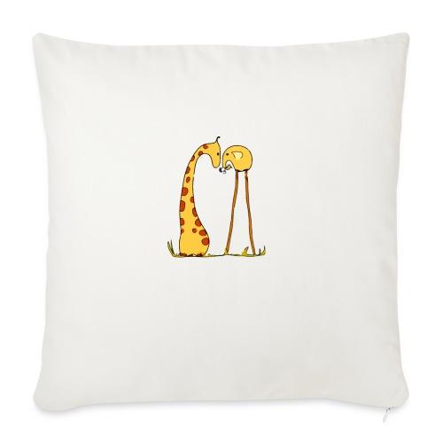 Maglietta San Valentino Tenera | con Animali - Copricuscino per divano, 45 x 45 cm