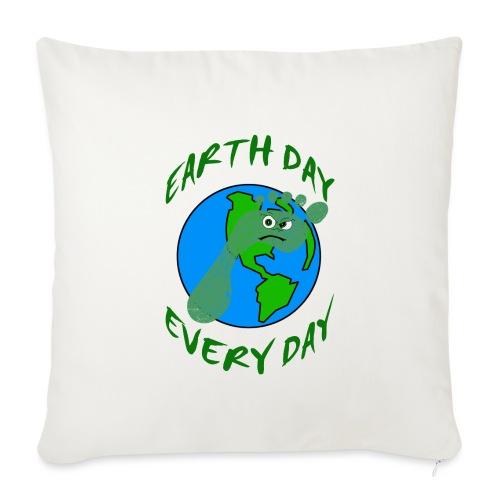Earth Day Every Day - Sofakissenbezug 44 x 44 cm