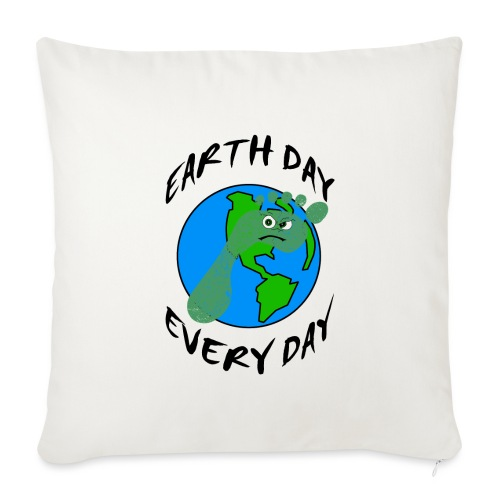 Earth Day Every Day - Sofakissenbezug 44 x 44 cm