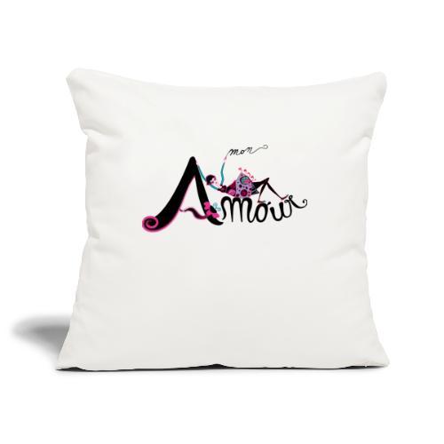 Love Mon Amour - Copricuscino per divano, 45 x 45 cm
