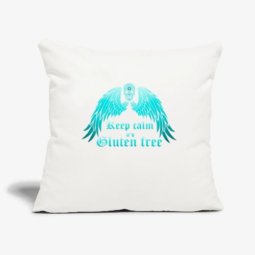 Keep calm it's Gluten free - Sofa pillowcase 17,3'' x 17,3'' (45 x 45 cm)