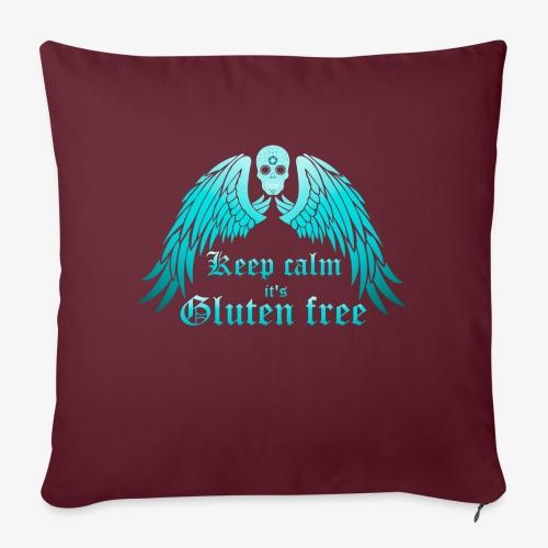 Keep calm it's Gluten free - Sofa pillowcase 17,3'' x 17,3'' (45 x 45 cm)