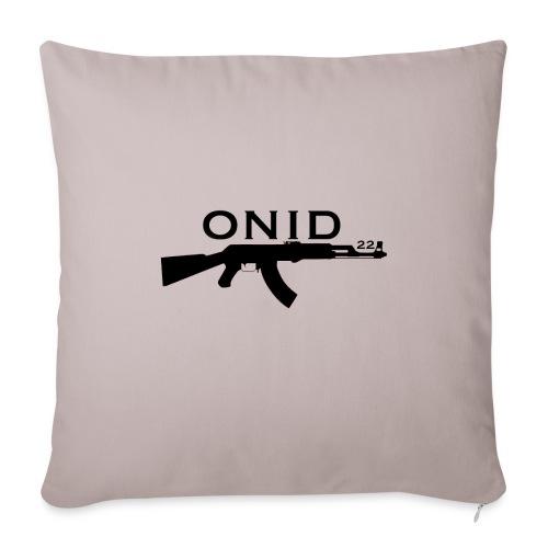 logo ONID-22 nero - Copricuscino per divano, 45 x 45 cm