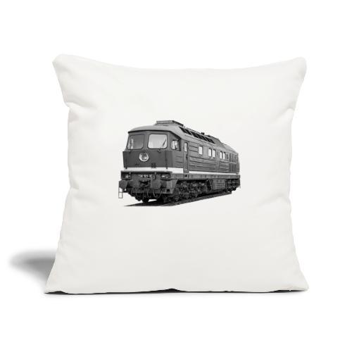 Lokomotive Baureihe 130 Reichsbahn Taigatrommel - Sofakissenbezug 44 x 44 cm