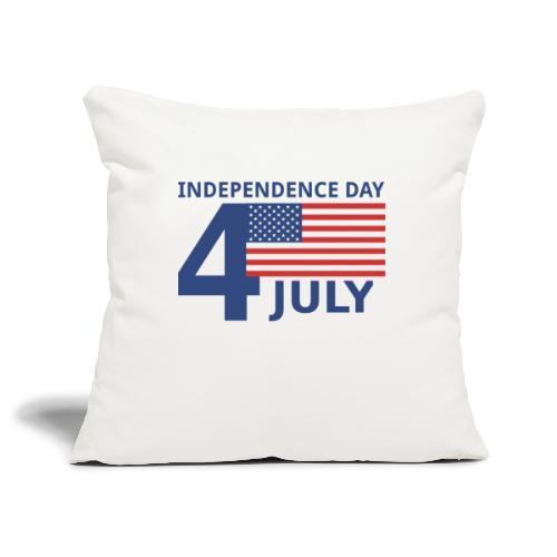 4th of July. 4 luglio - Copricuscino per divano, 45 x 45 cm