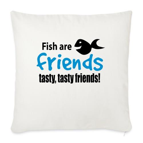 Fisk er venner - Sofaputetrekk 45 x 45 cm