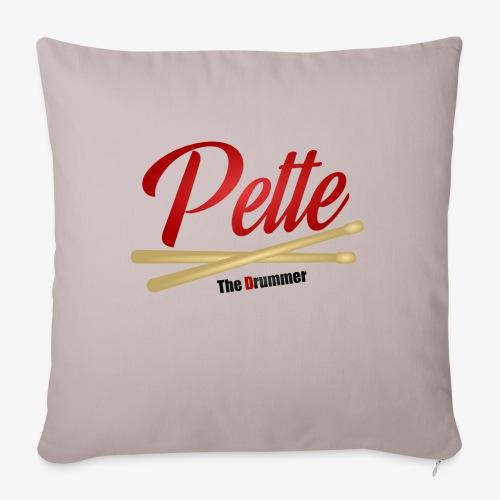 Pette the Drummer - Sofa pillowcase 17,3'' x 17,3'' (45 x 45 cm)