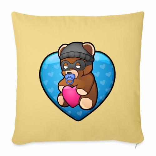 Bobby Bear - Sofa pillowcase 17,3'' x 17,3'' (45 x 45 cm)