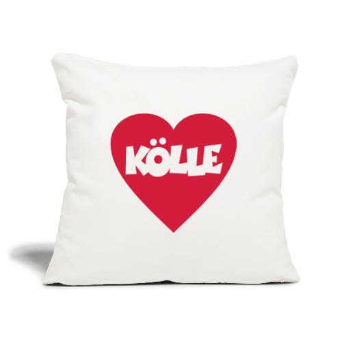 I Love Kölle - Ein Herz für Köln - Sofakissenbezug 44 x 44 cm