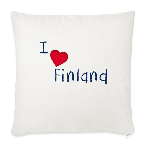 I Love Finland - Sohvatyynyn päällinen 45 x 45 cm