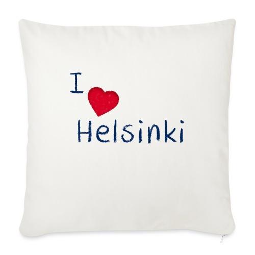 I Love Helsinki - Sohvatyynyn päällinen 45 x 45 cm