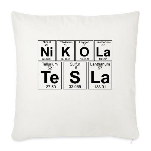 Ni-K-O-La Te-S-La (nikola_tesla) - Full - Sofa pillowcase 17,3'' x 17,3'' (45 x 45 cm)