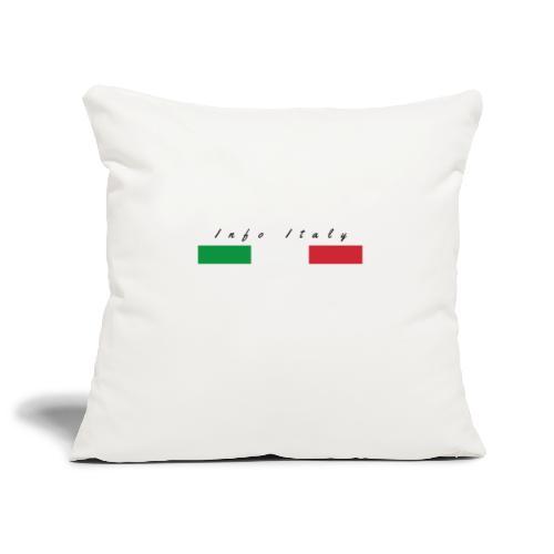 Info Italy Design - Copricuscino per divano, 45 x 45 cm