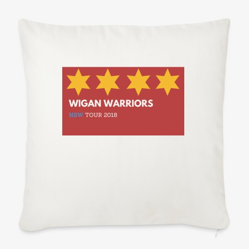 Wigan warriors NSW 2 TOUR - Sofa pillowcase 17,3'' x 17,3'' (45 x 45 cm)