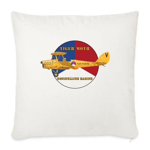 Tiger Moth Kon Marine - Sofa pillowcase 17,3'' x 17,3'' (45 x 45 cm)