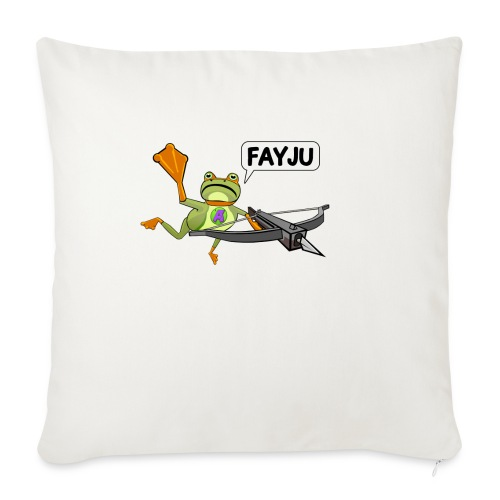 Amazing Frog Crossbow - Sofa pillowcase 17,3'' x 17,3'' (45 x 45 cm)