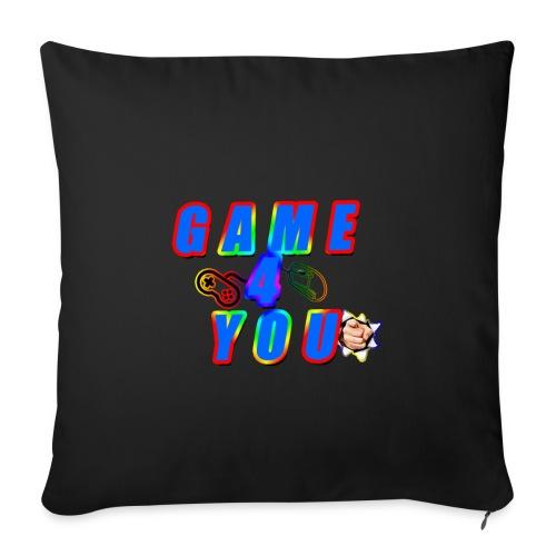 Game4You - Sofa pillowcase 17,3'' x 17,3'' (45 x 45 cm)