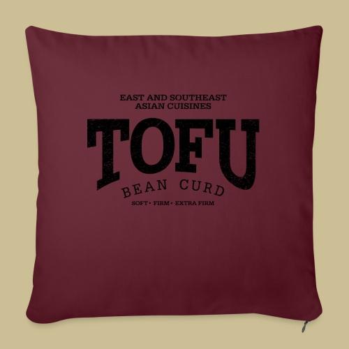 Tofu (black oldstyle) - Sofakissenbezug 44 x 44 cm