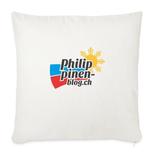 Das original Philippinen-Blog Logo - Sofakissenbezug 44 x 44 cm