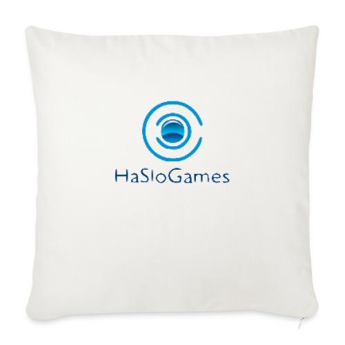 HasloGames Producten officieel logo - Sierkussenhoes, 45 x 45 cm