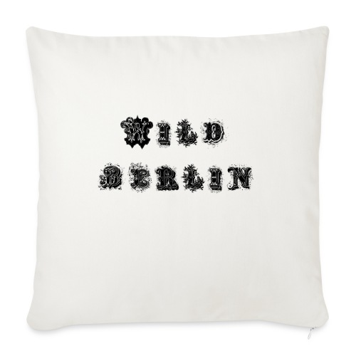 BERLIN TSHIRT - Sofa pillowcase 17,3'' x 17,3'' (45 x 45 cm)