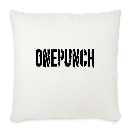 Boxing Boxing Martial Arts mma tshirt one punch - Sofa pillowcase 17,3'' x 17,3'' (45 x 45 cm)
