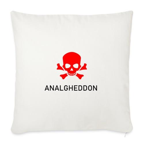ANALGHEDDON Lustiges T-Shirt Design - Sofakissenbezug 44 x 44 cm