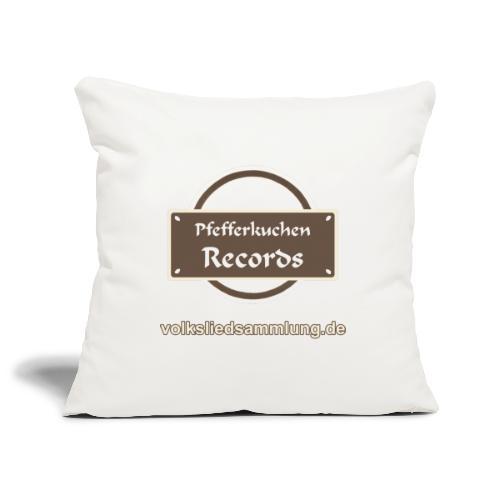 Pfefferkuchen Records Label - Volksliedsammlung - Sofakissenbezug 44 x 44 cm